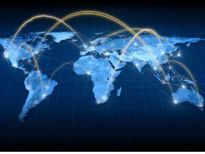 l'étendue d'internet dans le monde